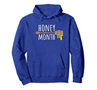 Honey Month Shirts Hoodie Royal Blue