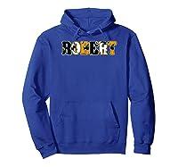 Robert Spooky Name Halloween Gift T-shirt Hoodie Royal Blue