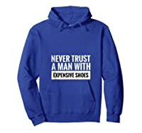 Motivational Shoes Quote Tank Top Shirts Hoodie Royal Blue