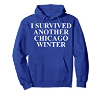 Funny Chicago Tshirts For Gifts For Chicago Residents Hoodie Royal Blue
