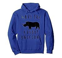Save The Chubby Unicorns T-shirt Hoodie Royal Blue
