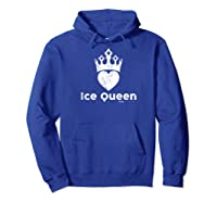 Vintage Ice Queen Anti Valentines Day T Shirt Hoodie Royal Blue