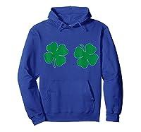 Saint St Patrick S Day Tshirt Funny Irish Boobs Tee Hoodie Royal Blue