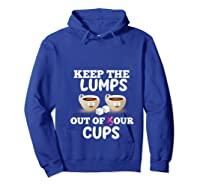 Breast Cancer Awareness Month Design For Cancer Survivors T Shirt Hoodie Royal Blue