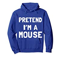 Mouse Halloween Costume Funny Gift Shirts Hoodie Royal Blue