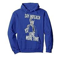 Impeach T Shirt Hoodie Royal Blue
