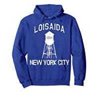 Loisaida New York City 10009 Nyc Alphabet City Water Tower T Shirt Hoodie Royal Blue