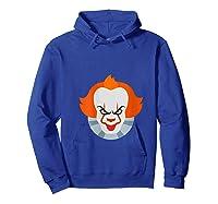 Scary Clown Halloween Gift T-shirt Hoodie Royal Blue