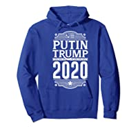 Resist Russian Putin Impeach President Putin Trump 2020 Premium T Shirt Hoodie Royal Blue