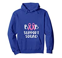 Pink Night Football Breast Cancer Awareness Month Supporter T Shirt Hoodie Royal Blue