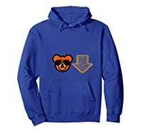 Chicago Football Down Arrow Sunday Bear Tailgate Party Shirts Hoodie Royal Blue