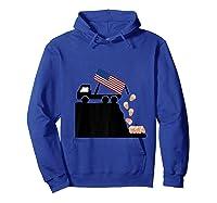 Impeach Trump Funny Political T Shirt Hoodie Royal Blue