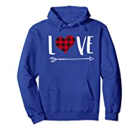 Love Heart Arrow T Shirt Best Gift For Valentines Day Hoodie Royal Blue