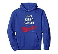 Keep Calm It S Mueller Time Impeach Trump Distressed T Shirt Hoodie Royal Blue