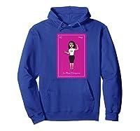 La Mas Chingona Premium T-shirt Hoodie Royal Blue