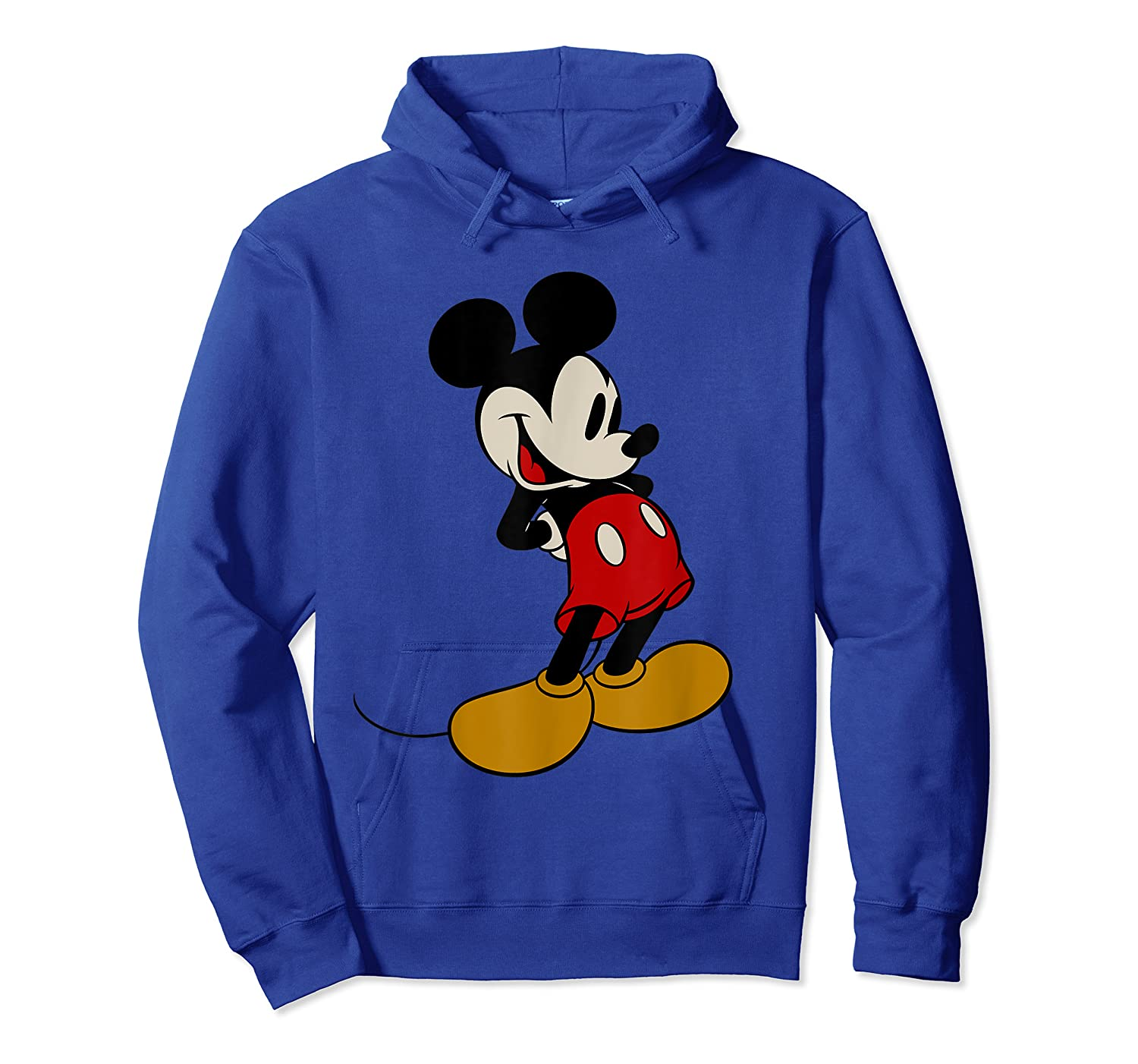 Disney Mickey Mouse Smile T Shirt Unisex Pullover Hoodie