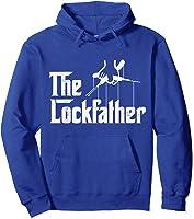 Locksmith - Lockfather T-shirt Hoodie Royal Blue