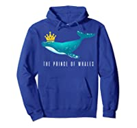The Prince Of Whales Funny Trump Royal Political Meme Lover Shirts Hoodie Royal Blue