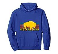 Rocky Mountain National Park Colorado Gifts Souvenir Co T-shirt Hoodie Royal Blue
