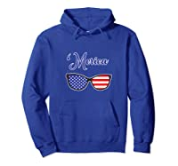 Merica Patriotic Memorial Day July 4th And Election Tank Top Shirts Hoodie Royal Blue