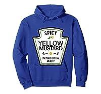 Mustard Condits Group Halloween Costumes T-shirt T-shirt Hoodie Royal Blue