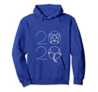 2020 Year Of The Rat Chinese Zodiac Lunar Happy New Year Shirts Hoodie Royal Blue