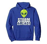Storm Area 51 - Alien Awareness Truth Event - Together We Raglan Baseball Ts Shirts Hoodie Royal Blue