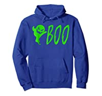 Funny Spooky Ghost Halloween Holiday Trick Or Treat Shirts Hoodie Royal Blue