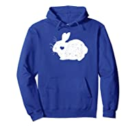 Rabbit Lover Shirt For  Hoodie Royal Blue