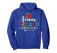Team 2nd Second Grade Back To School Tea Gift Shirts Hoodie Royal Blue