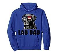 Chocolate Labrador Hashtag Lab Dad Tshirt Father Day Gifts Hoodie Royal Blue