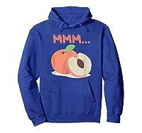 Mmm Peach Impeach Trump Political Protest Tee Activist Gift Shirts Hoodie Royal Blue