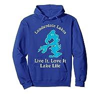 Lauderdale Lakes Wi Lake Life T-shirt Wisconsin Fans Tee Hoodie Royal Blue