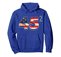 Donald Trump America Re Election T Shirt Gift Hoodie Royal Blue