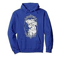 Frozen Elsa Sketch Portrait Snowflakes Shirts Hoodie Royal Blue
