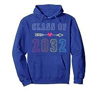 Class Of 2032 Pre K Graduate Preschool Graduation Gift Shirts Hoodie Royal Blue