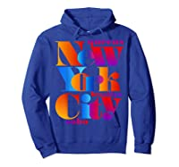 New York City T Shirt Urban Nyc Fashion Style T Shirt Nyc T Shirt Hoodie Royal Blue