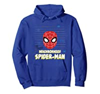 Spider Man Far From Home Friendly Neigrhood Shirts Hoodie Royal Blue