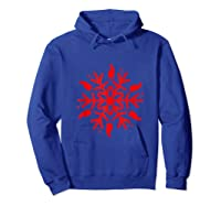 Rabbit Christmas Shirt Snowflake Tank Top Hoodie Royal Blue