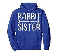 Cute Rabbit Sister Shirt I M Going To Be A Sister T Shirt Hoodie Royal Blue