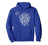 Dragons Dnd Fighter Dungeons Icon Art Tabletop Birthday Gift Shirts Hoodie Royal Blue