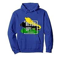 Bless Up N Pride Yaadie T Shirt Walk Good Everyday Hoodie Royal Blue