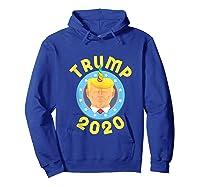 Funny Unicrontrump 2020 Election Usa Flag Republican Gift Tank Top Shirts Hoodie Royal Blue