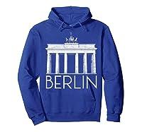 Berlin Shirt For Girls  Hoodie Royal Blue