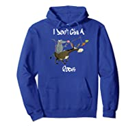 Don't Give A Rats Ass Mouse Riding Donkey Focus Baseball Shirts Hoodie Royal Blue