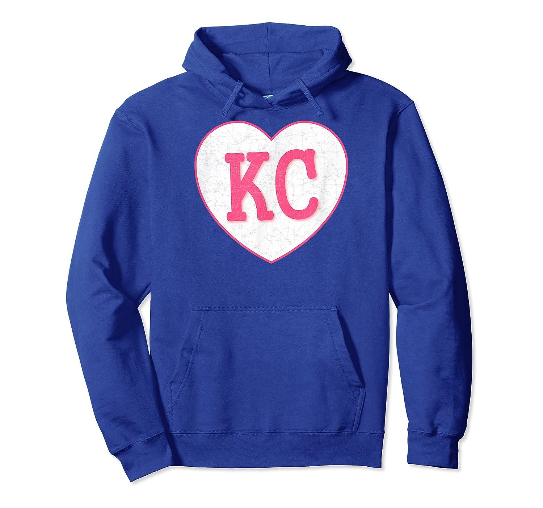 Pink Kansas City Light Pink Cool Vintage Heart Shirts Unisex Pullover Hoodie