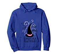 It S No Trick Or Treat Breast Cancer Awareness Witch Month T Shirt Hoodie Royal Blue