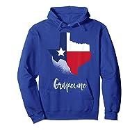 Grapevine Texas T Shirt Lone Star State Texan Gift Hoodie Royal Blue