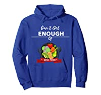 Can T Get Enough Of Soul Food Vegan Vegetarian T Shirt Hoodie Royal Blue
