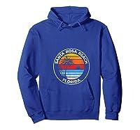 Vintage Santa Rosa Beach Florida Souvenir Beach T-shirt Hoodie Royal Blue